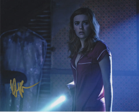 Kennedy McMann Nancy Drew Signed Autograph 8x10 Photo #5
