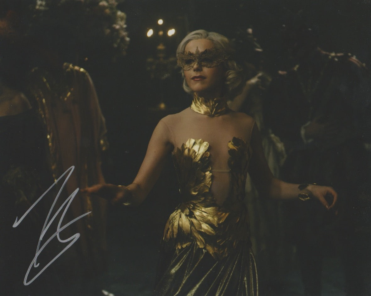 Kiernan Shipka Sabrina Signed Autograph 8x10 CAOS Photo #5 - Outlaw Hobbies Authentic Autographs