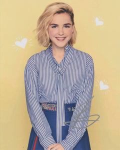 Kiernan Shipka Sabrina Signed Autograph 8x10 CAOS Photo #10 - Outlaw Hobbies Authentic Autographs