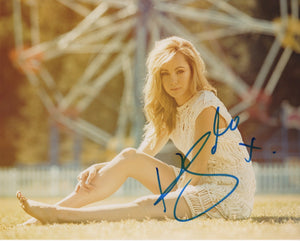 Ksenia Solo Turn Signed Autograph 8x10 Photo #8