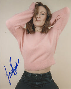 Laura Benanti Sexy Signed Autograph 8x10 Photo #2 - Outlaw Hobbies Authentic Autographs