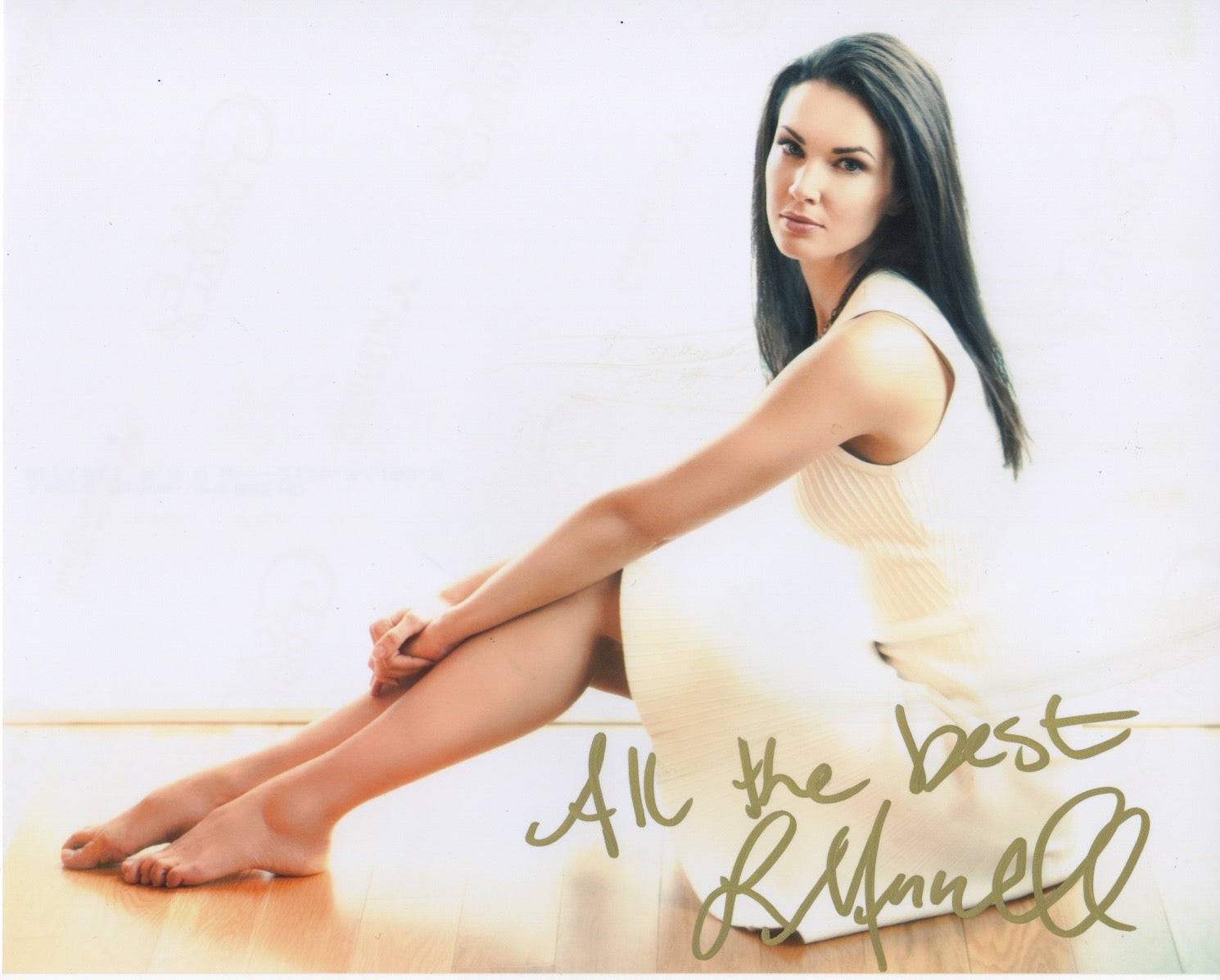 Laura Mennell Sexy Autograph Signed 8x10 Photo #7