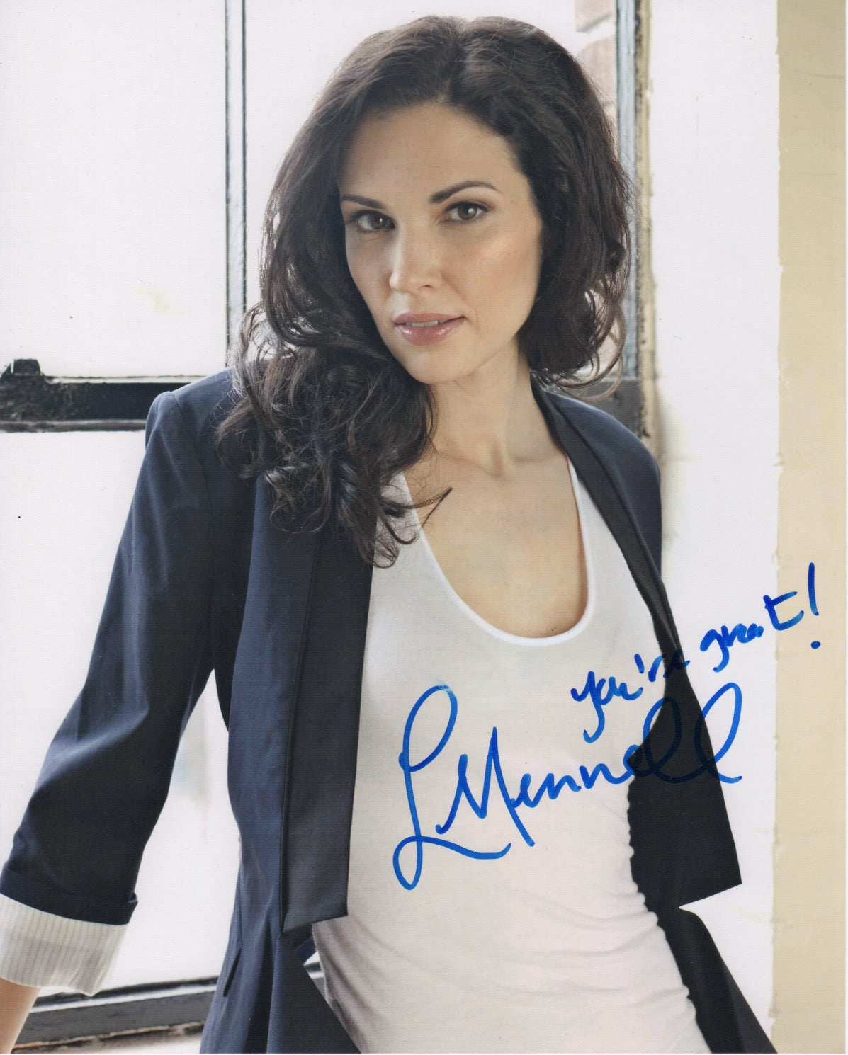 Laura Mennell Sexy Autograph Signed 8x10 Photo #3