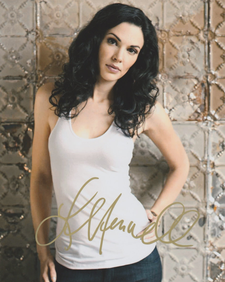 Laura Mennell Sexy Autograph Signed 8x10 Photo