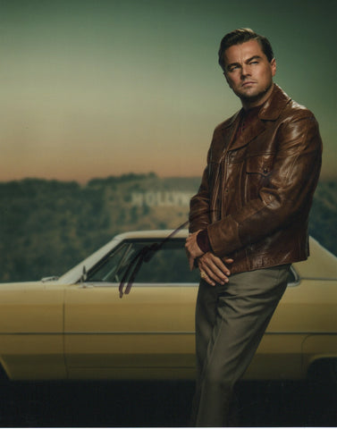 Leonardo DiCaprio Once Upon A Time in Hollywood Signed Autograph 8x10 Photo #1