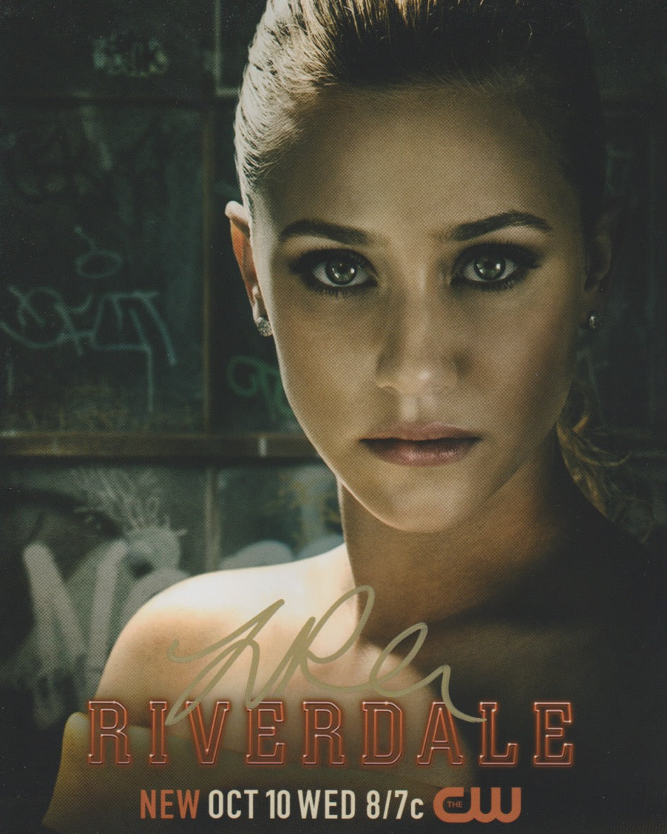 Lili Reinhart Riverdale Signed Autograph 8x10 Photo #9