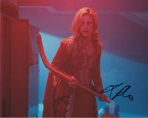 Lili Reinhart Sexy Riverdale Signed Autograph 8x10 Photo - Outlaw Hobbies Authentic Autographs