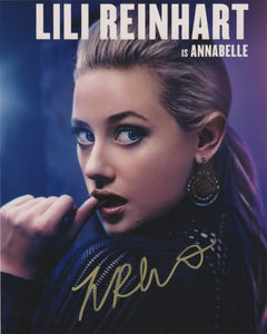 Lili Reinhart Hustlers Signed Autograph 8x10 Photo #21