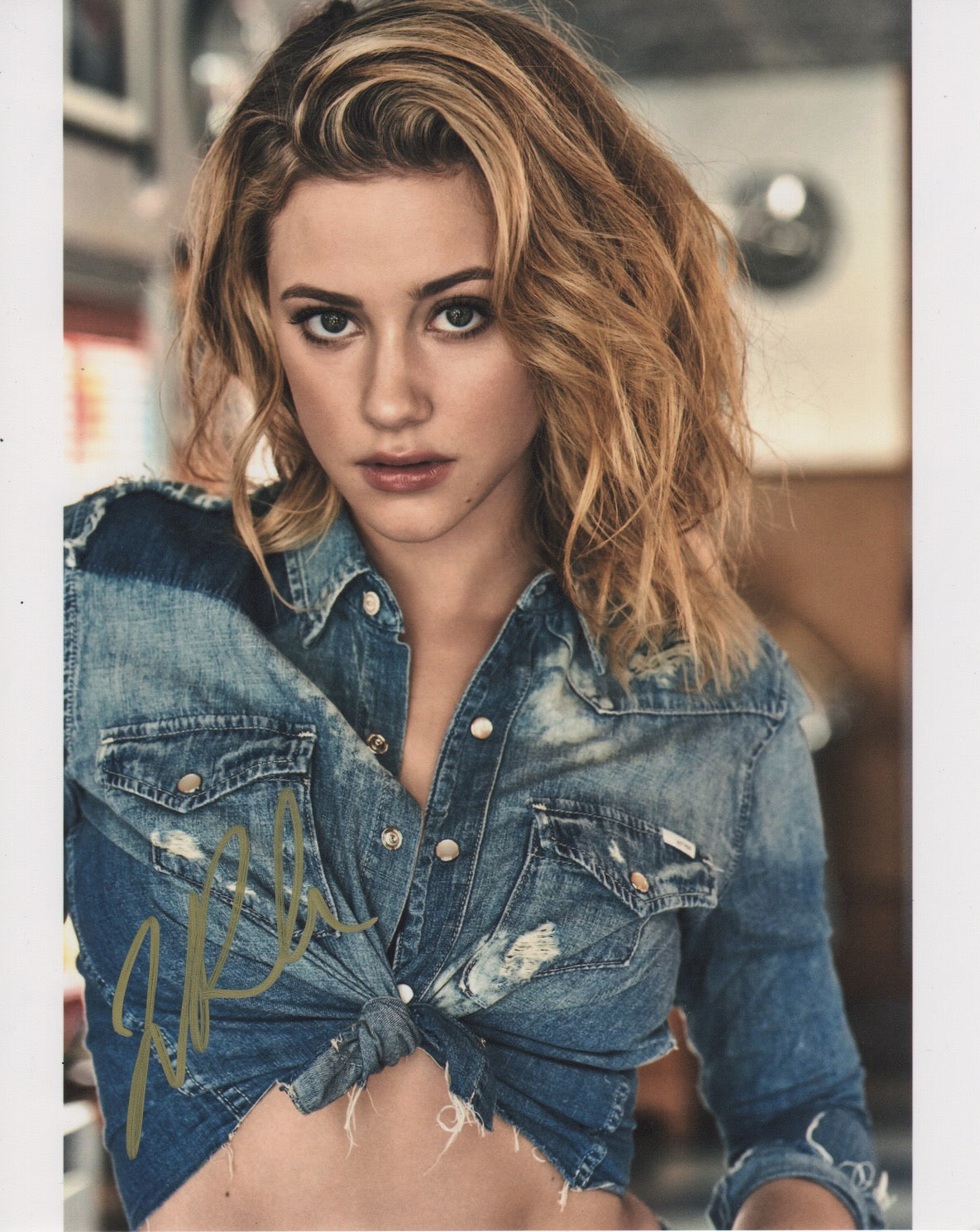 Lili Reinhart Riverdale Signed Autograph 8x10 Photo #3