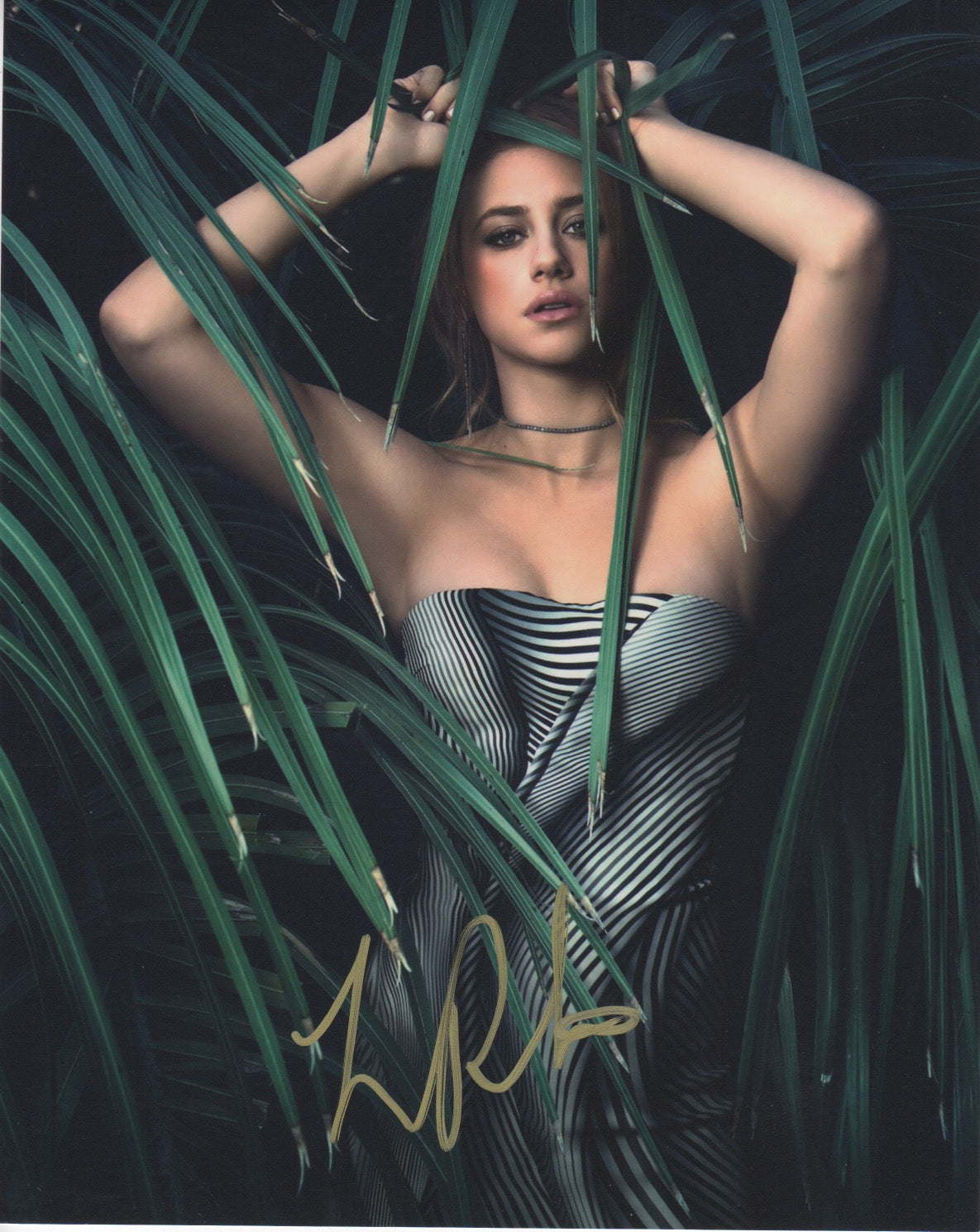Lili Reinhart Riverdale Signed Autograph 8x10 Photo #5