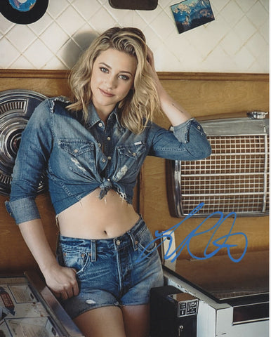 Lili Reinhart Riverdale Signed Autograph 8x10 Photo #7 - Outlaw Hobbies Authentic Autographs
