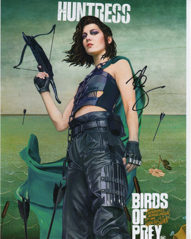 Mary Elizabeth Winstead Birds of Prey DC Signed Autograph 8x10 Photo #4 - Outlaw Hobbies Authentic Autographs