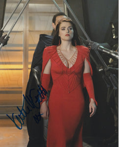 Katie McGrath Sexy Supergirl Signed Autograph 8x10 Photo #7 - Outlaw Hobbies Authentic Autographs