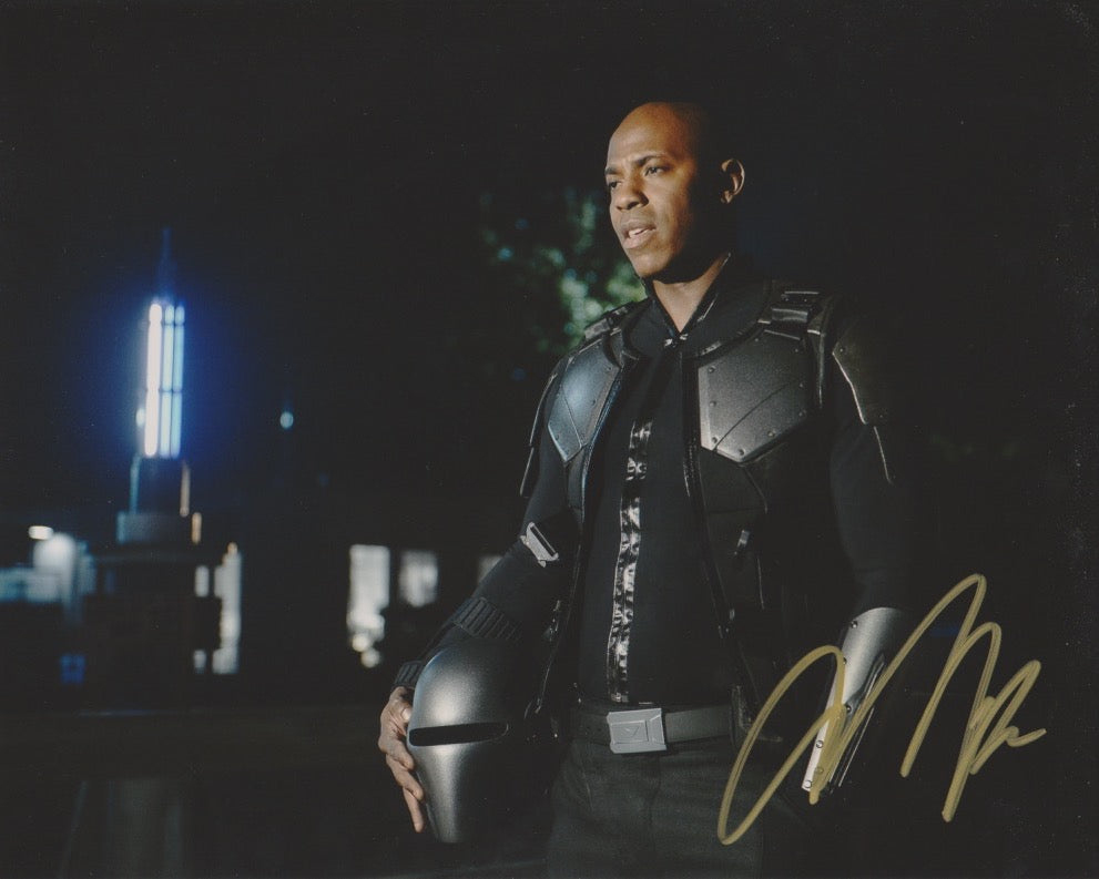 Mehcad Brooks Supergirl Signed Autograph 8x10 Photo #2