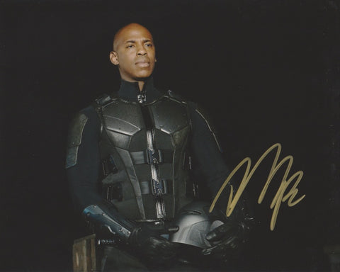 Mehcad Brooks Supergirl Signed Autograph 8x10 Photo #3