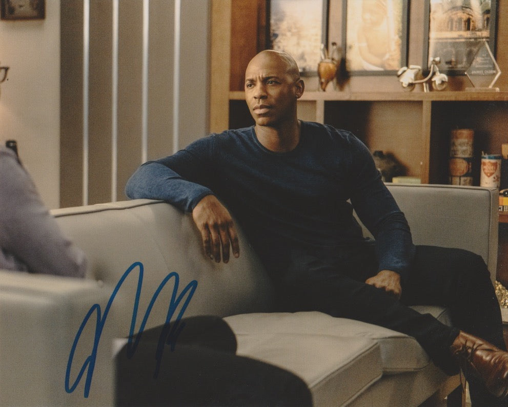 Mehcad Brooks Supergirl Signed Autograph 8x10 Photo #4 - Outlaw Hobbies Authentic Autographs