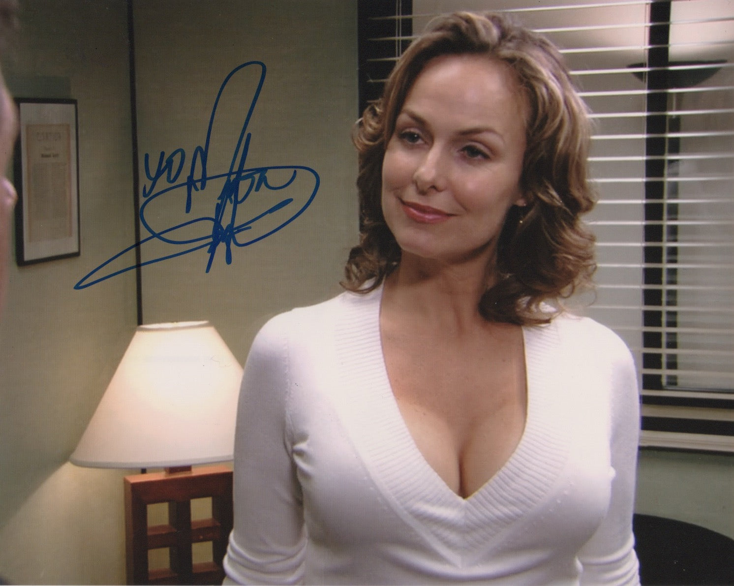 Melora Hardin The Office Autograph 8x10 Photo #5