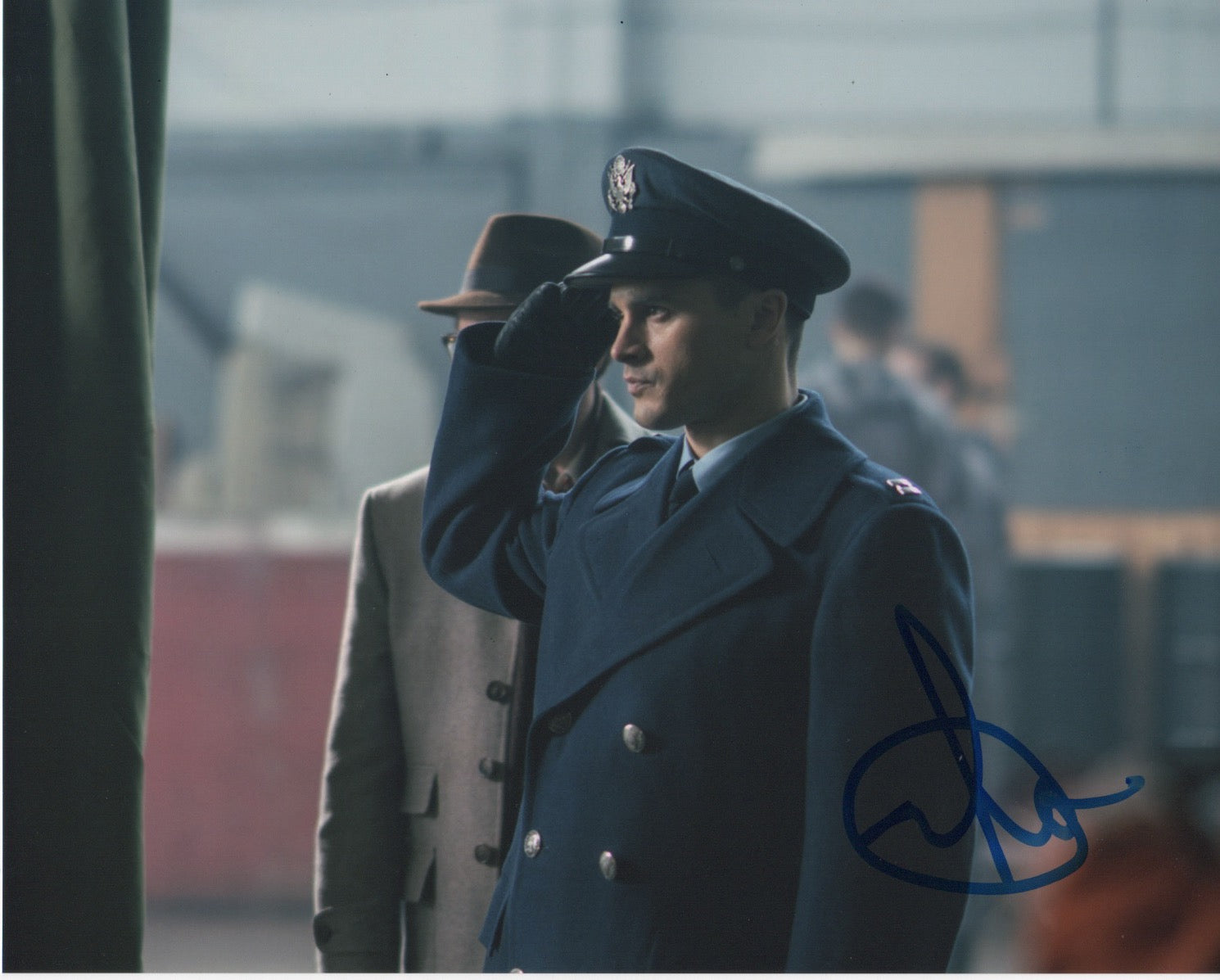 Michael Malarkey Project Blue Book Signed Autograph 8x10 Photo #9 - Outlaw Hobbies Authentic Autographs