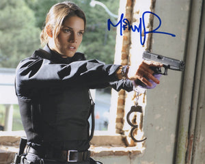 Missy Peregrym Rookie Blue Signed Autograph 8x10 Photo #2 - Outlaw Hobbies Authentic Autographs
