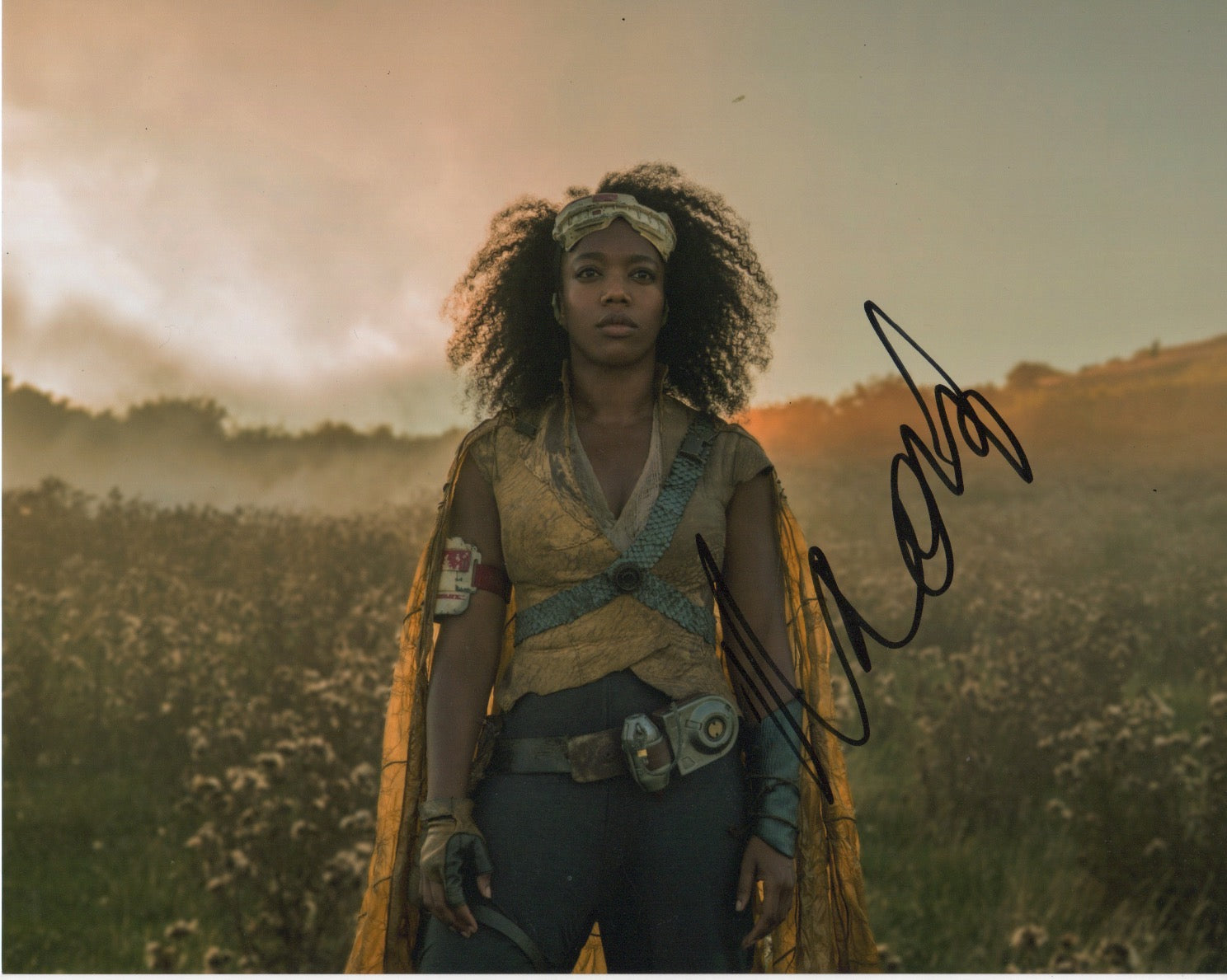 Naomi Ackie Star Wars Signed Autograph 8x10 Photo #2