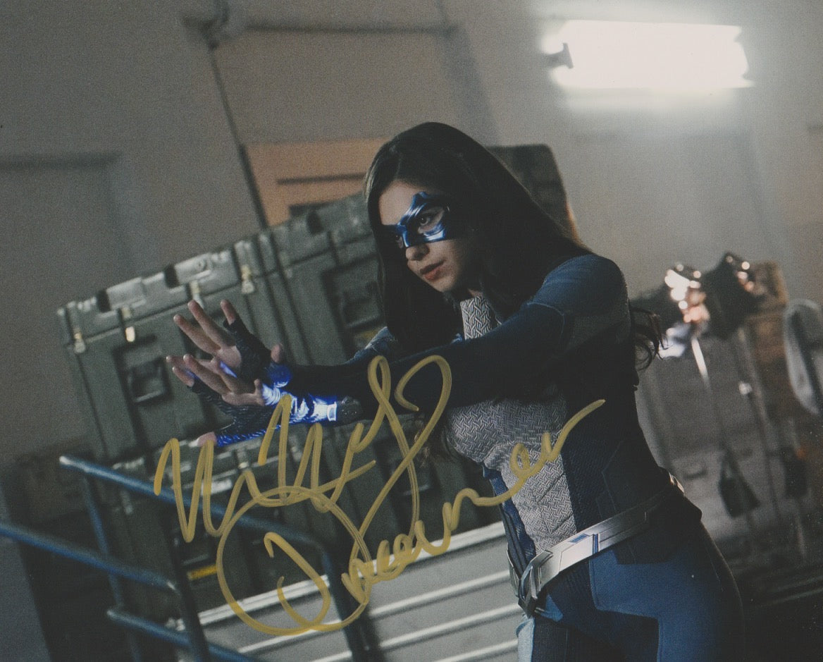 Nicole Maines Dreamer Supergirl Signed Autograph 8x10 Photo