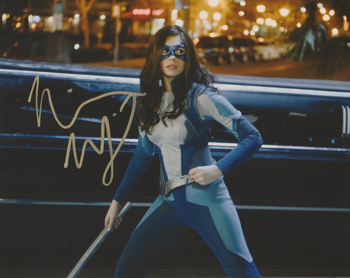 Nicole Maines Supergirl Signed Autograph 8x10 Photo #2 - Outlaw Hobbies Authentic Autographs