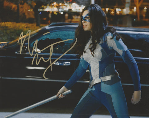 Nicole Maines Supergirl Signed Autograph 8x10 Photo - Outlaw Hobbies Authentic Autographs