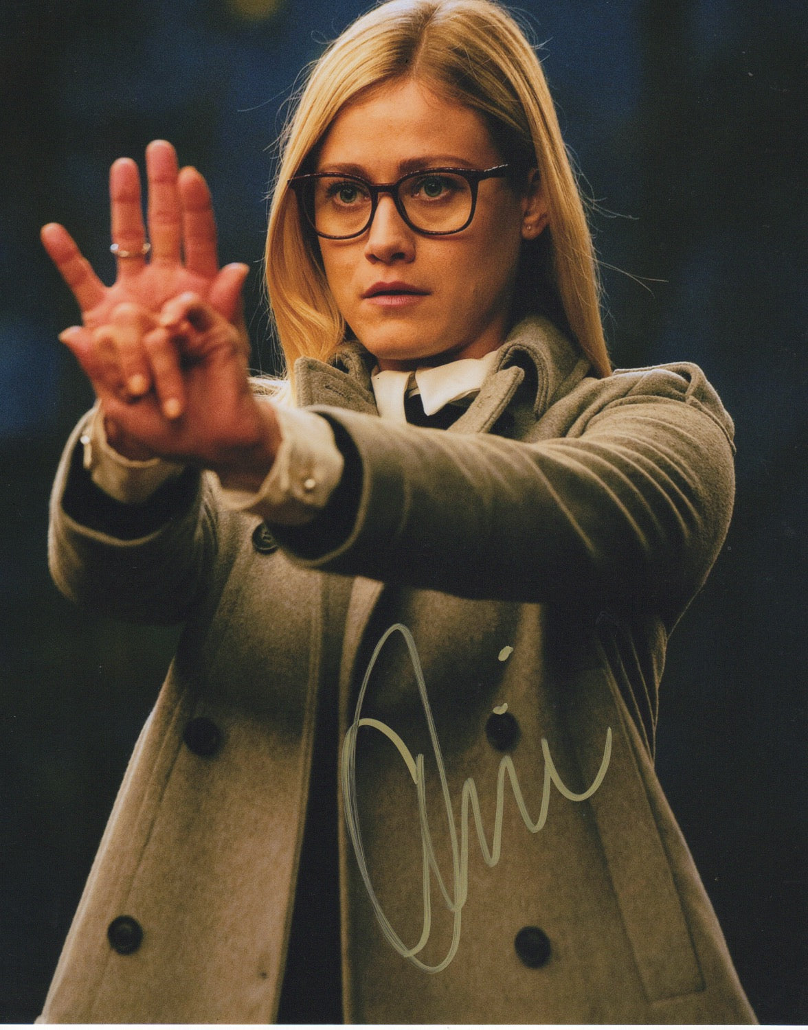 Olivia Taylor Dudley Magicians Signed Autograph 8x10 Photo #3 - Outlaw Hobbies Authentic Autographs