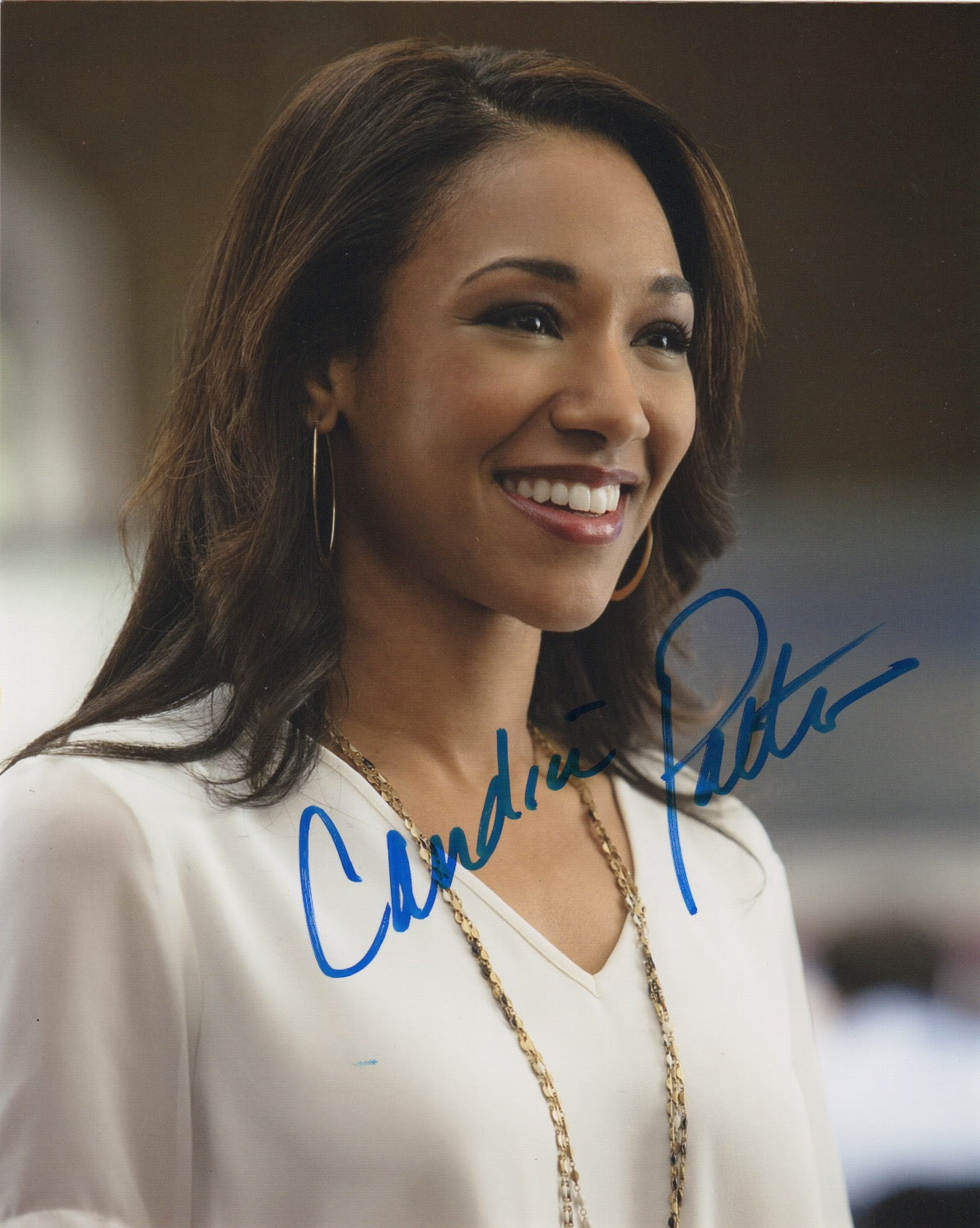Candice Patton The Flash Signed Autograph 8x10 Photo Arrow #2