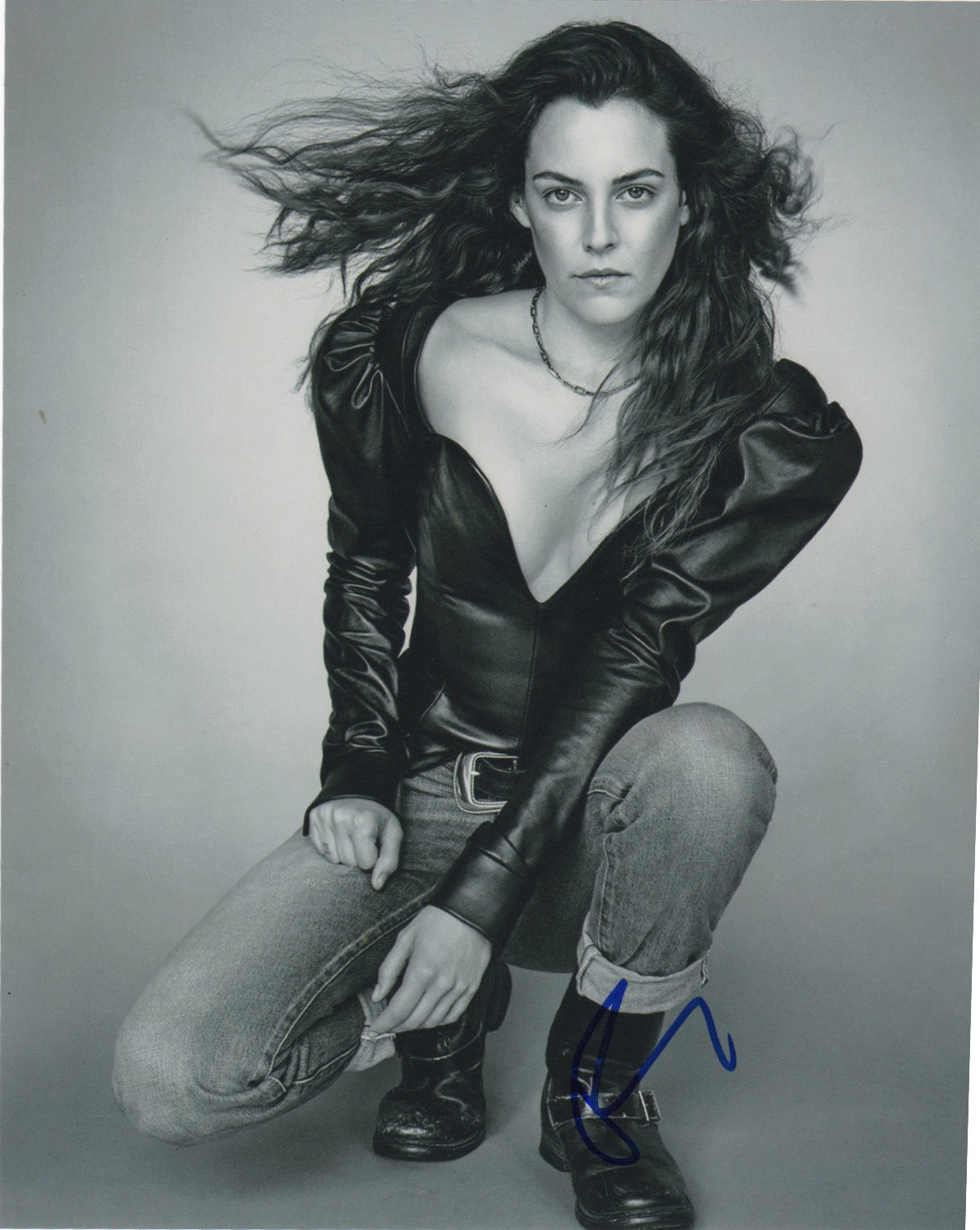 Riley Keough Sexy Signed Autograph 8x10 Photo - Outlaw Hobbies Authentic Autographs