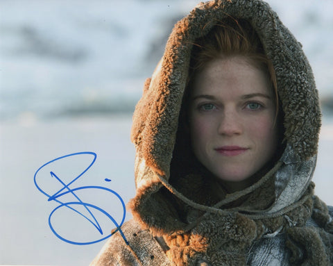 Rose Leslie Game of Thrones Signed Autograph 8x10 Photo - Outlaw Hobbies Authentic Autographs