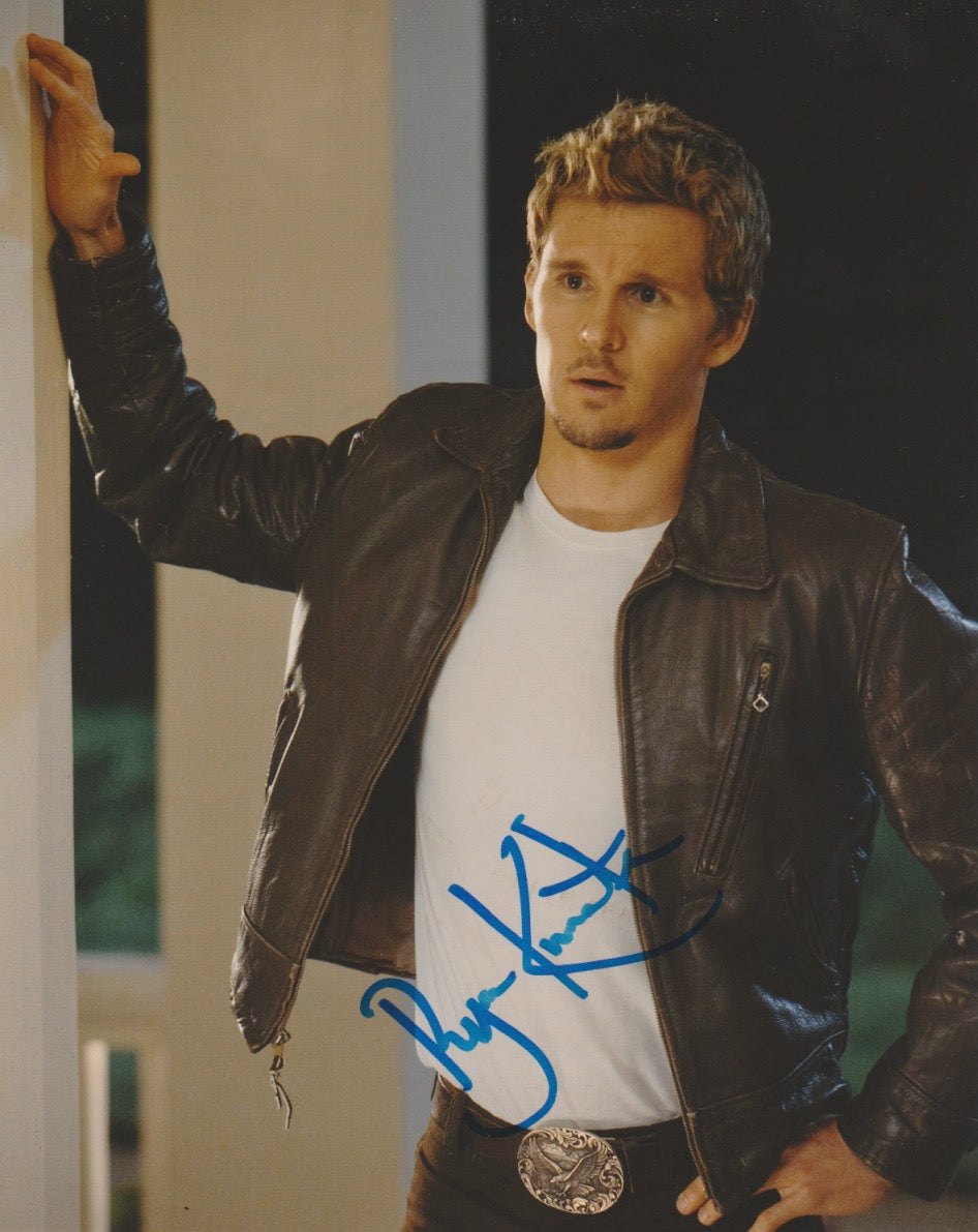 Ryan Kwanten True Blood Autograph 8x10 Photo #2 - Outlaw Hobbies Authentic Autographs