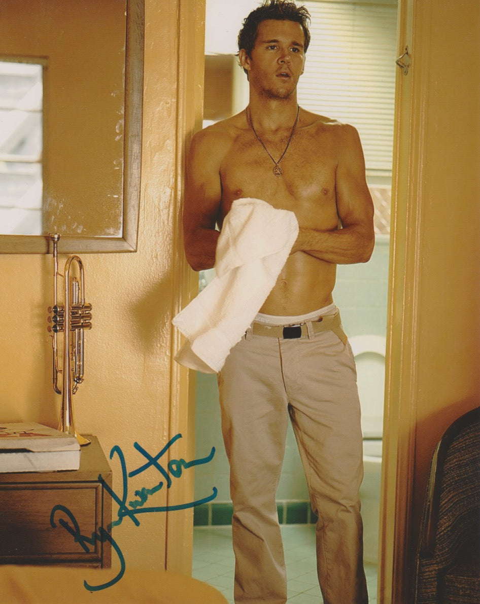 Ryan Kwanten True Blood Autograph 8x10 Photo #5 - Outlaw Hobbies Authentic Autographs