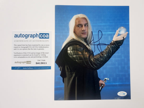 Jason Isaacs Harry Potter Signed Autograph 8x10 Photo #6 - Outlaw Hobbies Authentic Autographs