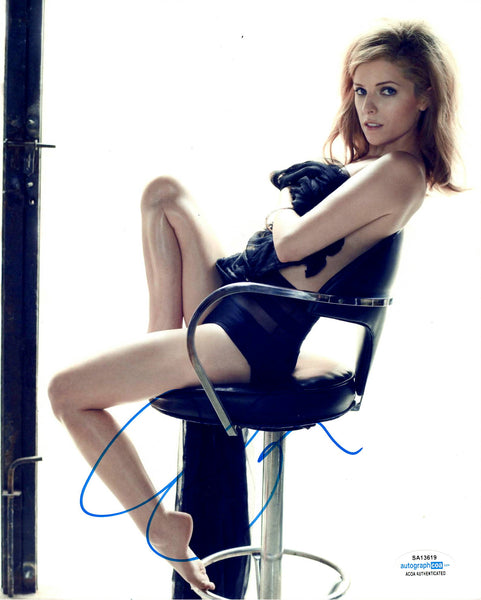 Anna Kendrick Sexy Signed Autograph 8x10 Photo - Outlaw Hobbies Authentic Autographs
