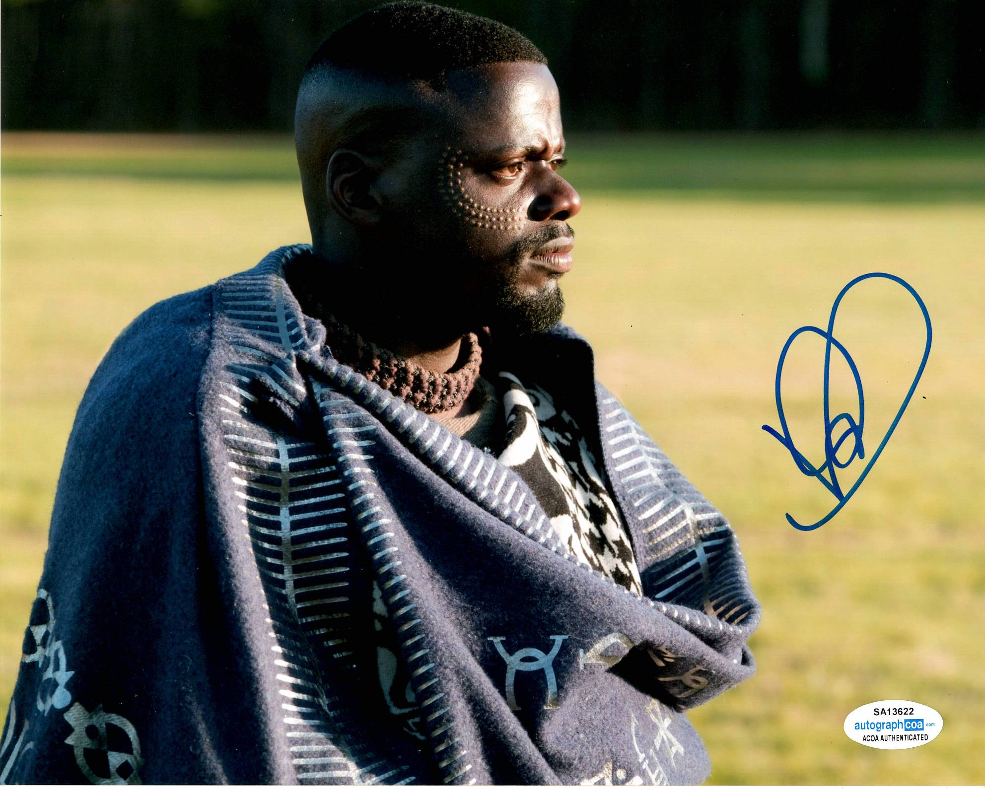Daniel Kaluuya Black Panther Signed Autograph 8x10 Photo #2 - Outlaw Hobbies Authentic Autographs