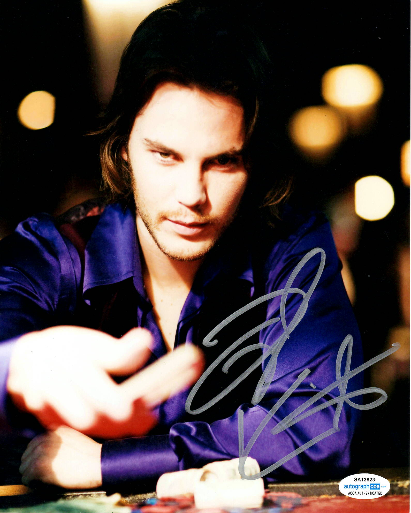 Taylor Kitsch Wolverine Signed Autograph 8x10 Photo