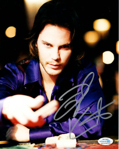 Taylor Kitsch Wolverine Signed Autograph 8x10 Photo - Outlaw Hobbies Authentic Autographs