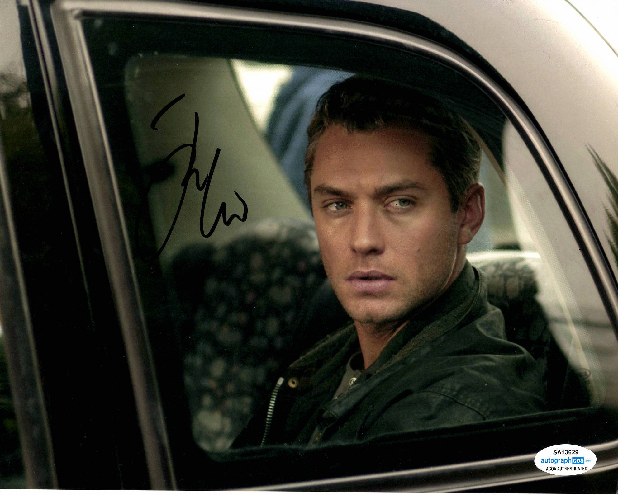 Jude Law Sherlock Signed Autograph 8x10 Photo #2 - Outlaw Hobbies Authentic Autographs