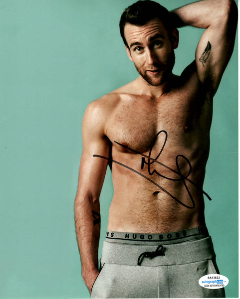 Matthew Matt Lewis Harry Potter Signed Autograph 8x10 Photo - Outlaw Hobbies Authentic Autographs