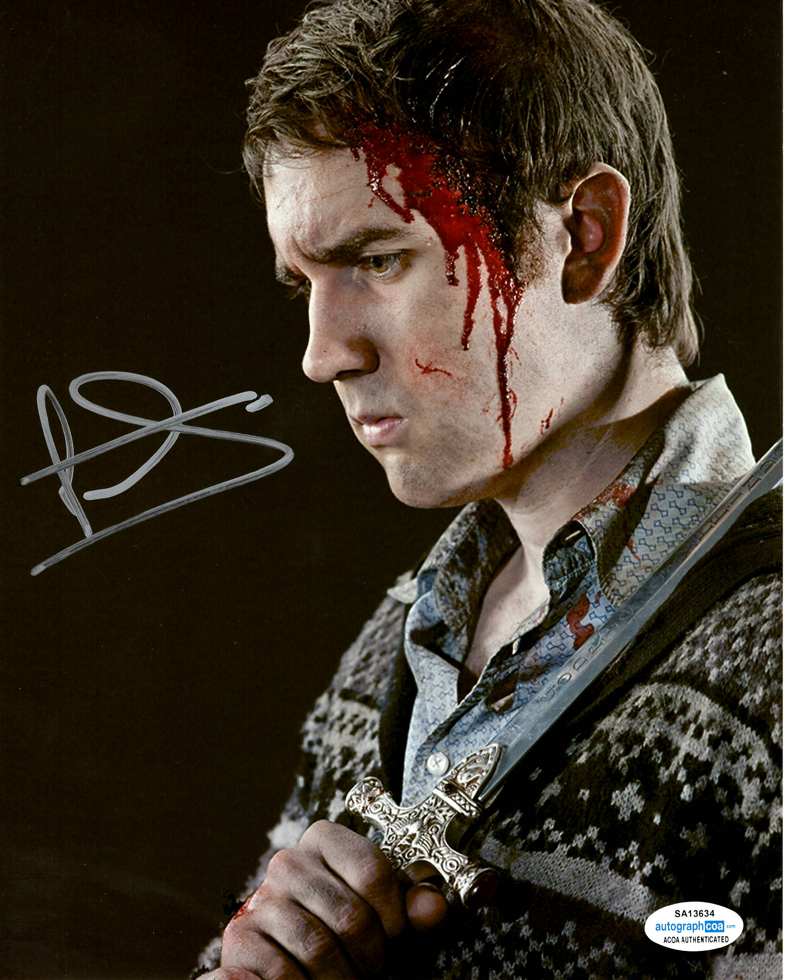 Matthew Matt Lewis Harry Potter Signed Autograph 8x10 Photo #3 - Outlaw Hobbies Authentic Autographs