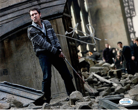 Matthew Matt Lewis Harry Potter Signed Autograph 8x10 Photo #4 - Outlaw Hobbies Authentic Autographs