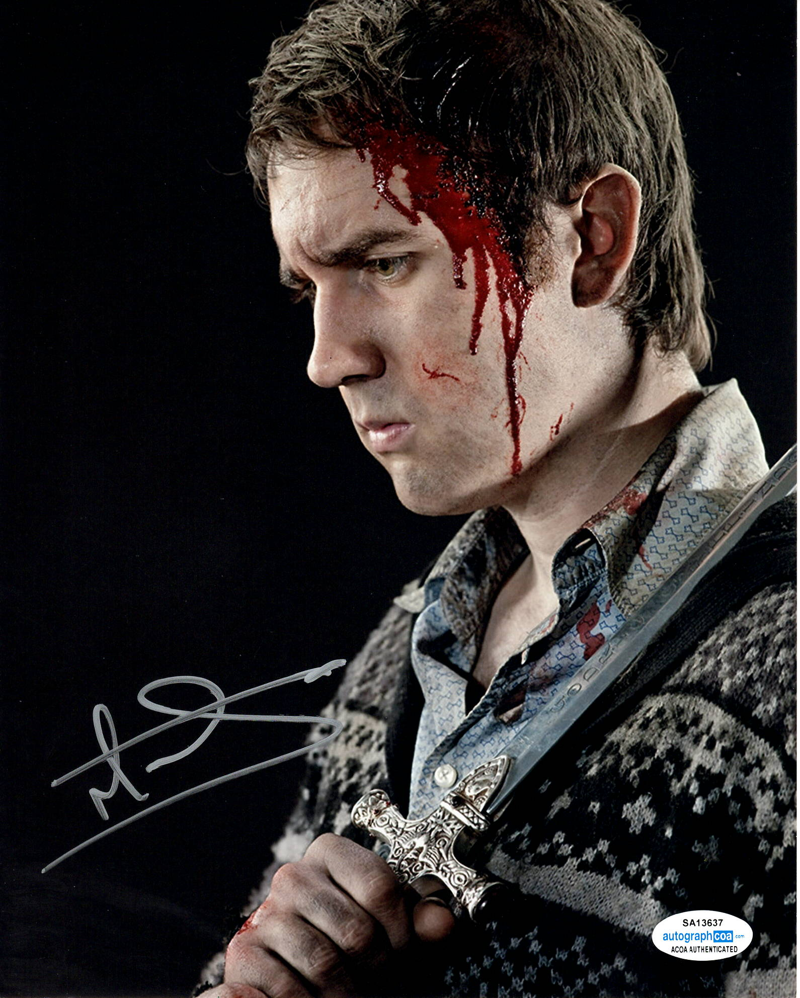 Matthew Matt Lewis Harry Potter Signed Autograph 8x10 Photo #6 - Outlaw Hobbies Authentic Autographs