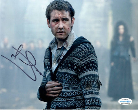 Matthew Matt Lewis Harry Potter Signed Autograph 8x10 Photo #7 - Outlaw Hobbies Authentic Autographs