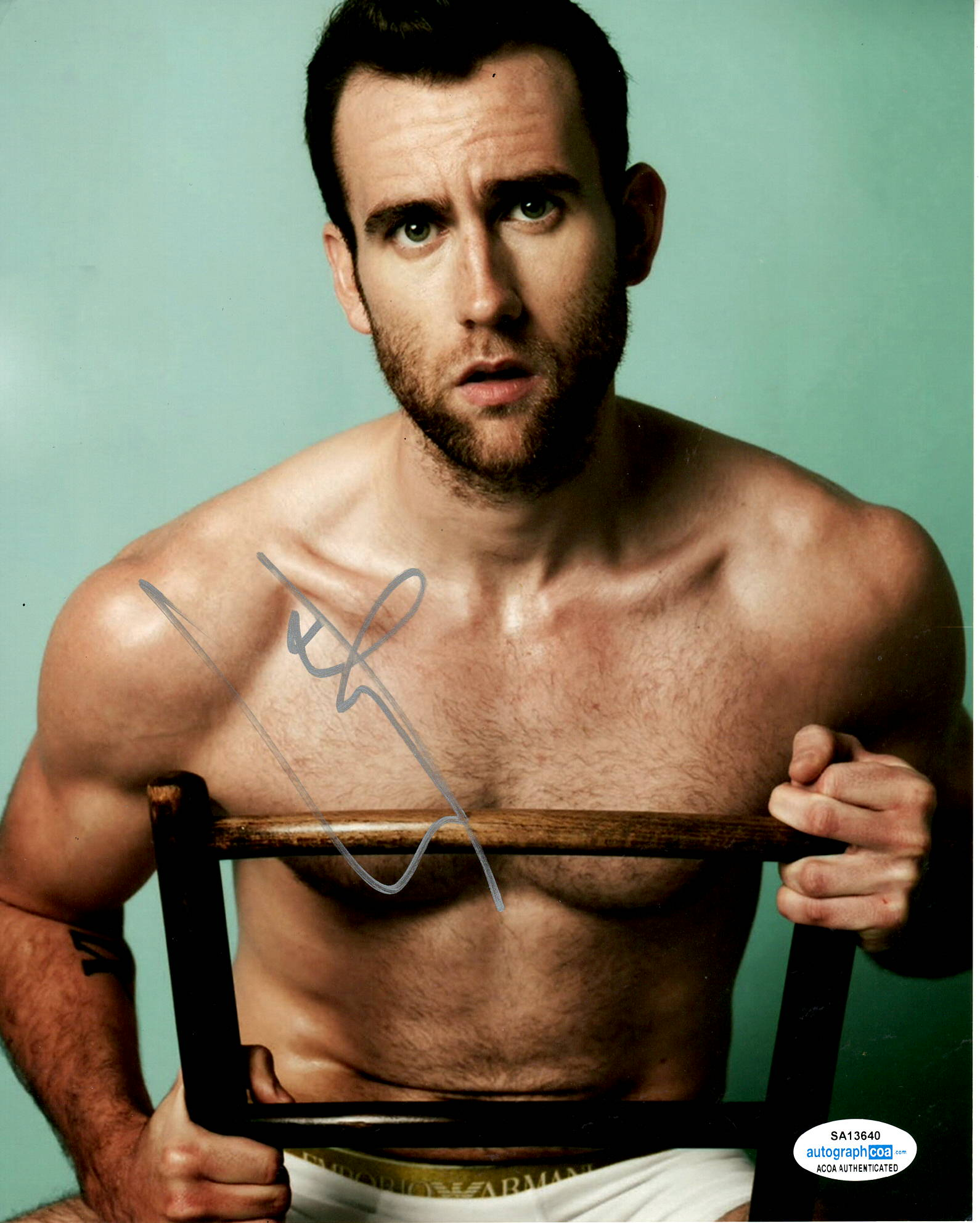 Matthew Matt Lewis Harry Potter Signed Autograph 8x10 Photo #9 - Outlaw Hobbies Authentic Autographs
