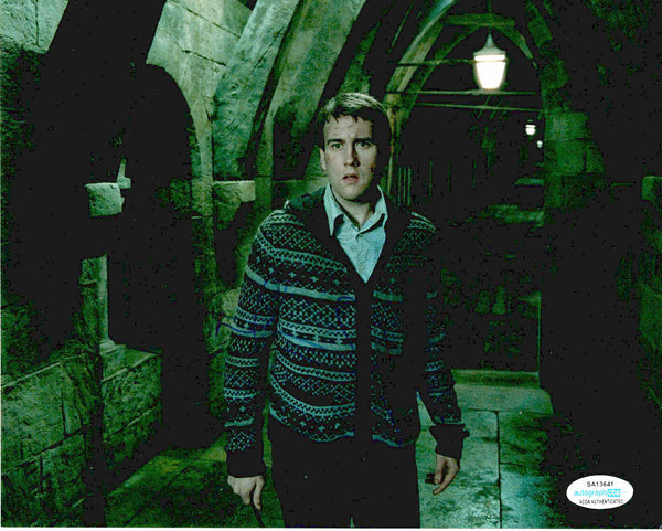 Matthew Matt Lewis Harry Potter Signed Autograph 8x10 Photo #10 - Outlaw Hobbies Authentic Autographs