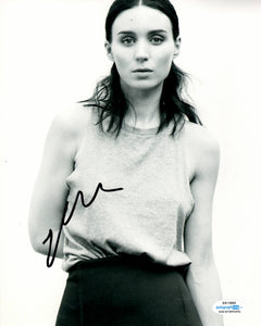 Rooney Mara Sexy Signed Autograph 8x10 Photo #3