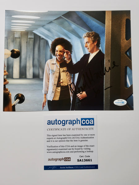 Pearl Mackie Doctor Who Signed Autograph 8x10 Photo