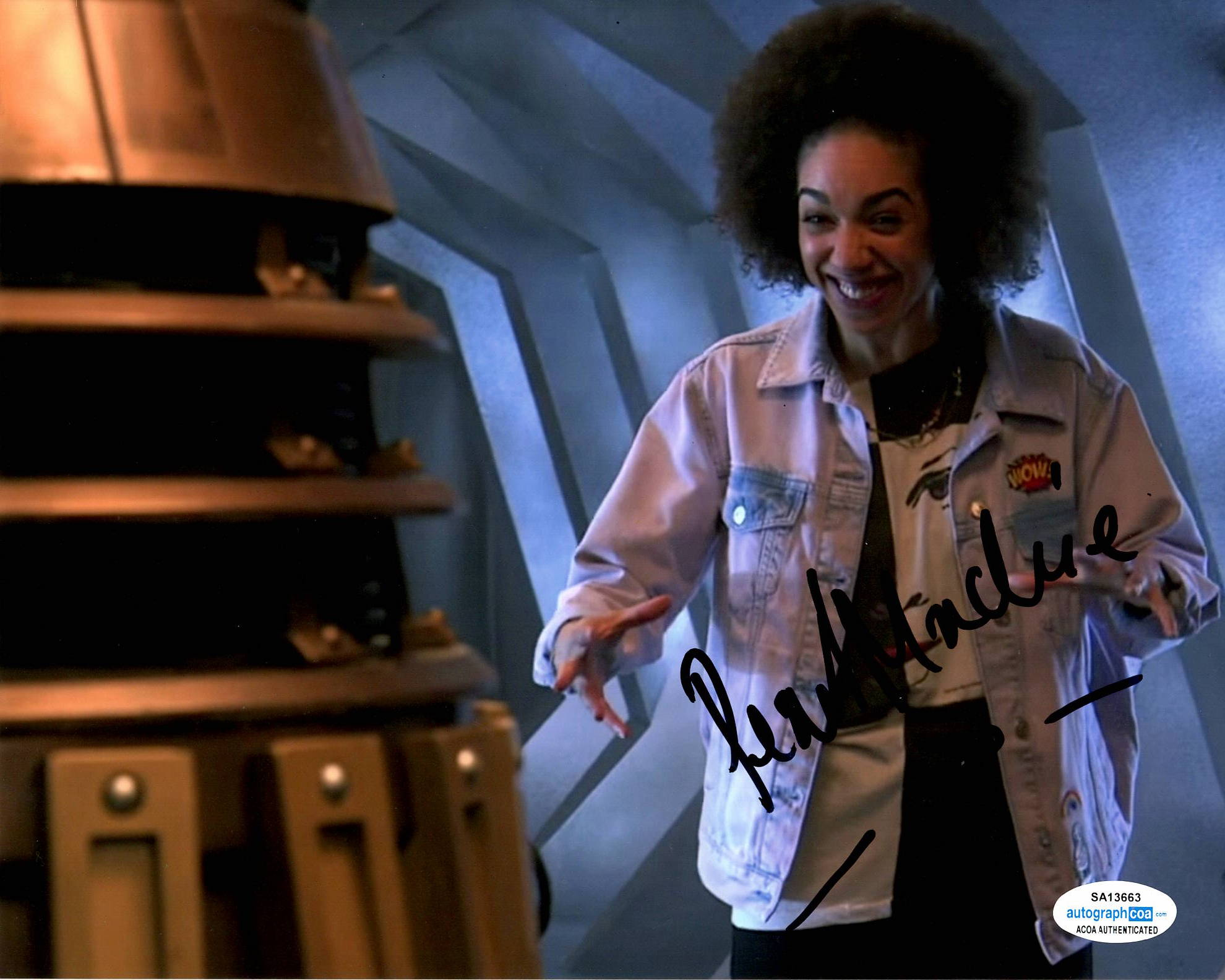 Pearl Mackie Doctor Who Signed Autograph 8x10 Photo #3