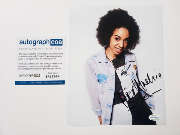 Pearl Mackie Doctor Who Signed Autograph 8x10 Photo #4